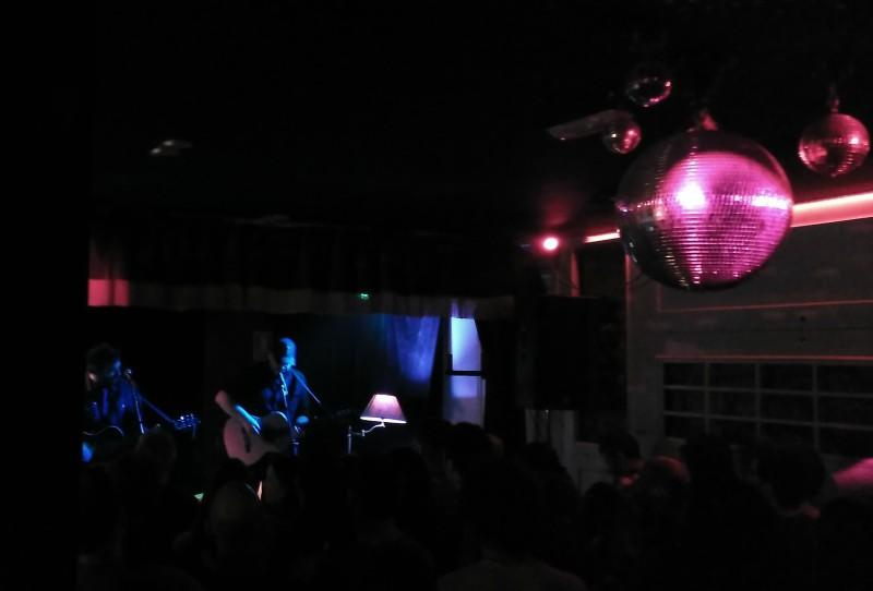 Mc Enroe y The New Raemon, en La Salvaje en Oviedo.