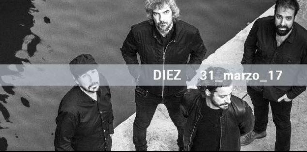 El nuevo disco de Niños Mutantes se llama DIEZ.