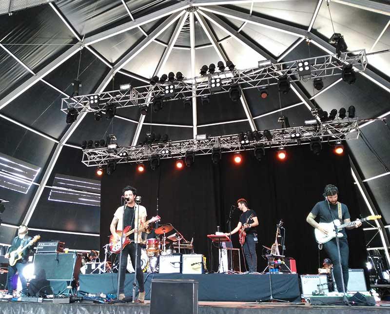 L.A. durante su actuación en el Atlantic Fest. / N.A.