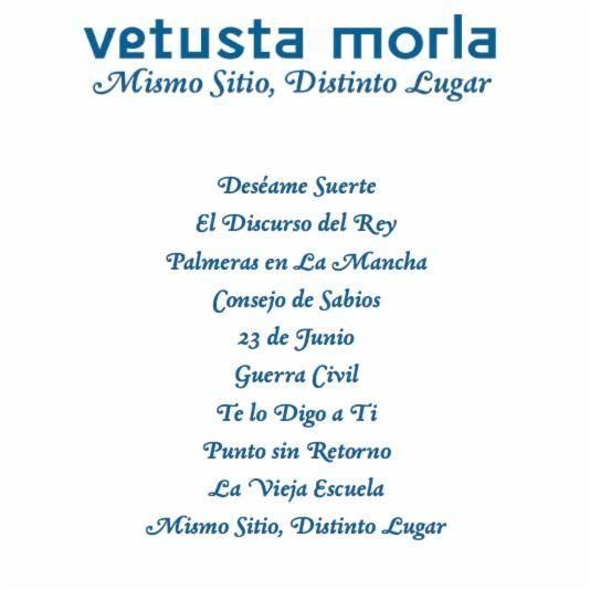 Las canciones del nuevo disco de Vetusta Morla.