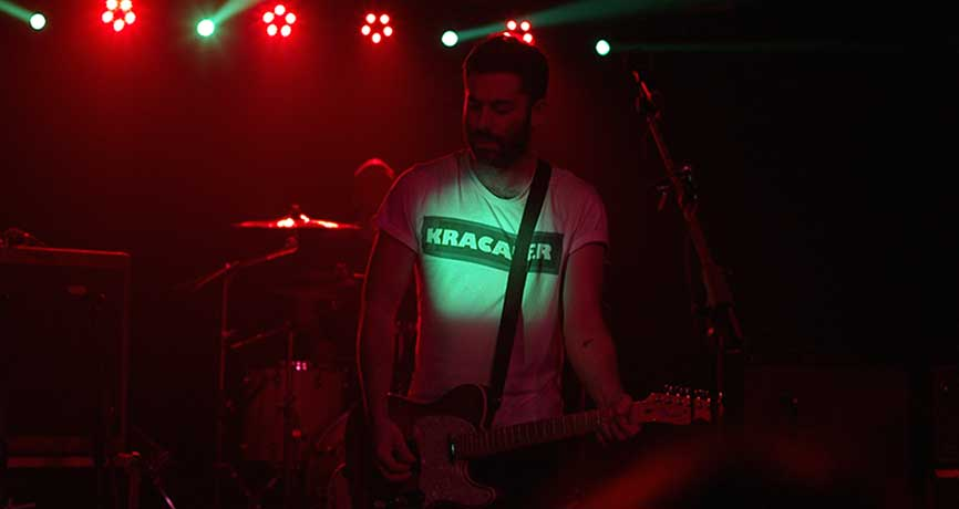Viva Suecia durante su concierto en Oviedo. A. / FERNÁNDEZ