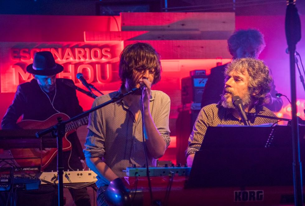 Concierto de Rufus T Firefly e Iván Ferreiro en Oviedo. / mahou.es