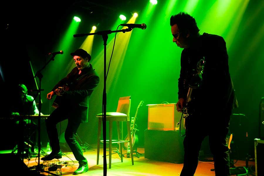 Mercury Rev durante su concierto en Gijón.