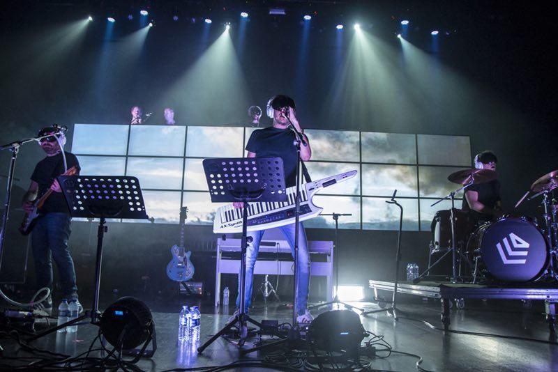 La Casa Azul durante su actuación. / DAVID MARS