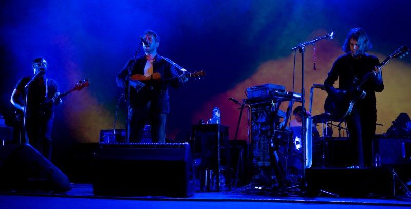 Fleet Foxes durante su concierto en el teatro de la Laboral. / A. FERNÁNDEZ
