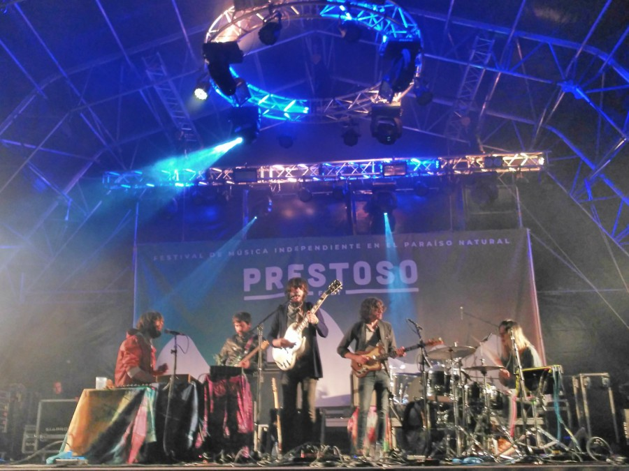 Rufus T. Firefly en el Prestoso Fest.